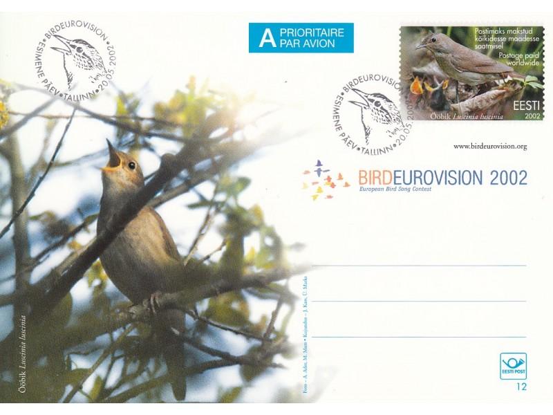 Linnueurovisioon FDC
