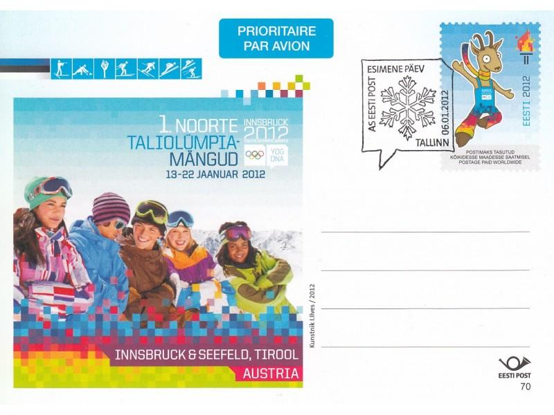 1. Noorte Taliolümpiamängud  FDC