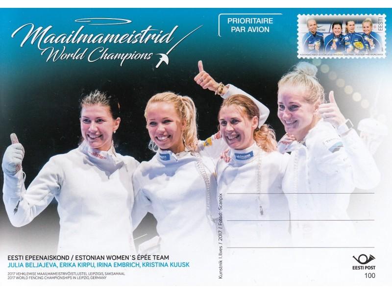 Eesti epeenaiskond - maailmameistrid