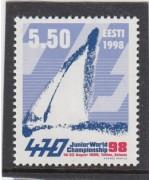Juunioride MM 470-klassi purjetamises