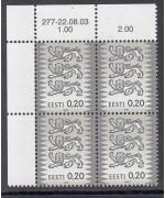 Eesti vapp 4x nurk A