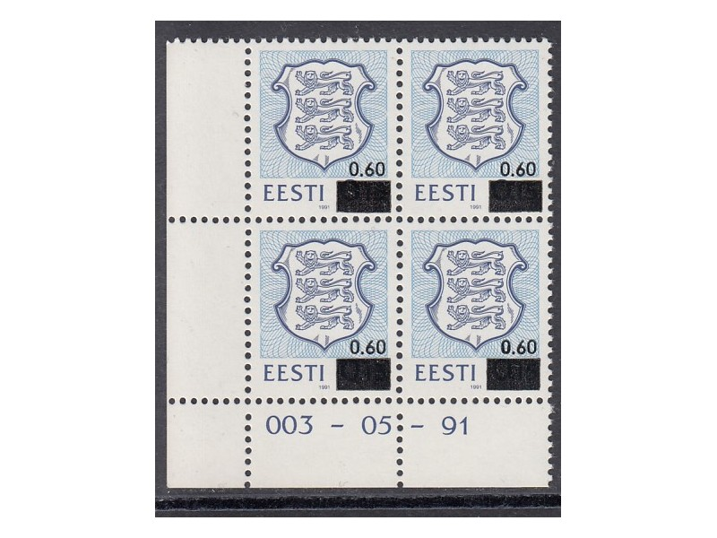 Eesti vapp 4x nurk C
